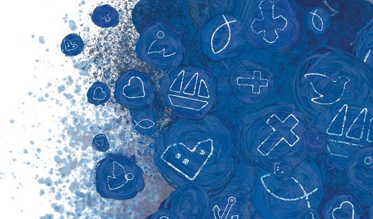 Grafik af kirkelige symboler