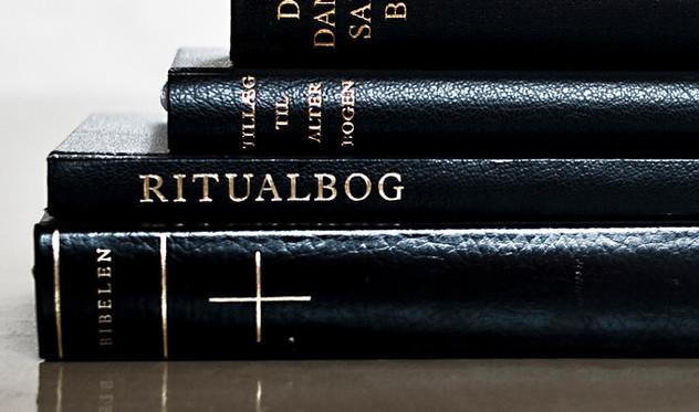 Maleri af jesus og teksten Teologisk voksenundervisning
